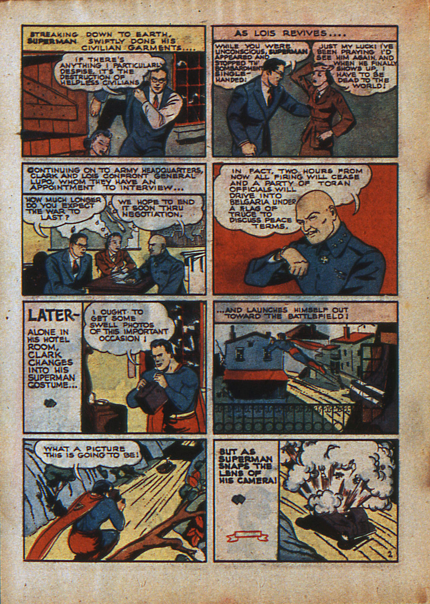 Read online Action Comics (1938) comic -  Issue #23 - 5