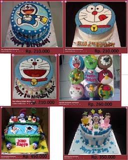 Doraemon Gambar Kue Ultah Anak Perempuan