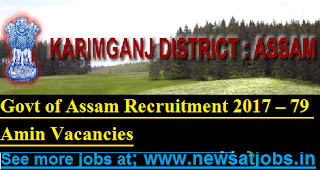 Govt-ofAssam-Recruitment-2017- 79-Amin