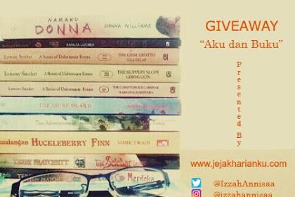 Giveaway Kisah Antara Aku dan Buku