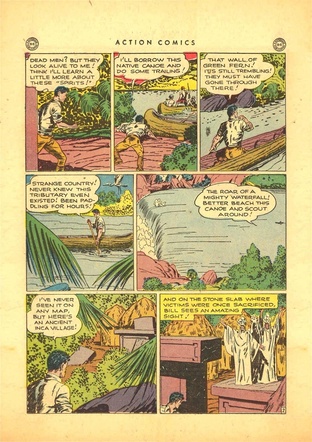 Read online Action Comics (1938) comic -  Issue #87 - 35