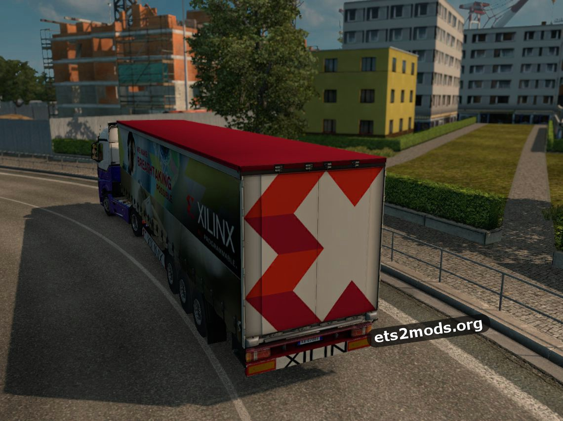 Xilinx trailer mod