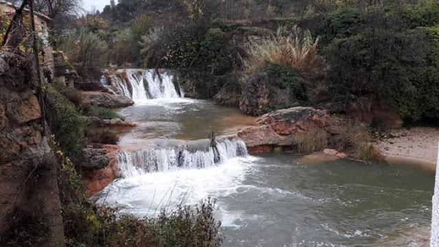 toll de rabosa crecido tras lluvias noviembre