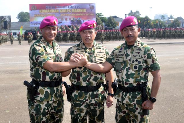Mayjen Bambang Suswantono Resmi Pimpin Korps Marinir TNI-AL