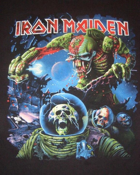 342cdbbd SOLD) Iron Maiden - Final Frontier 2010 shirt   Bundle4Life
