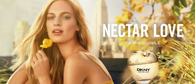 Reklama perfum DKNY Nectar Love