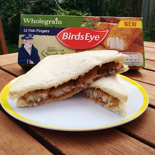 Birdseye Wholegrain Fish Finger Sandwiches. Can you say YUM?