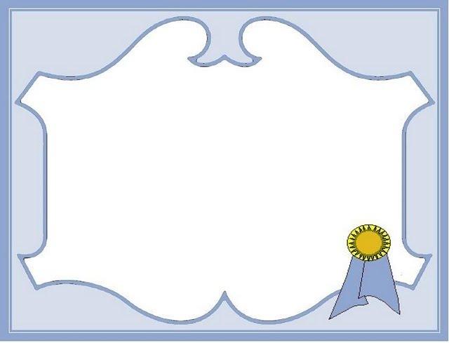 Modelos De Diplomas Para Llenar Imagui - OneLetterCO