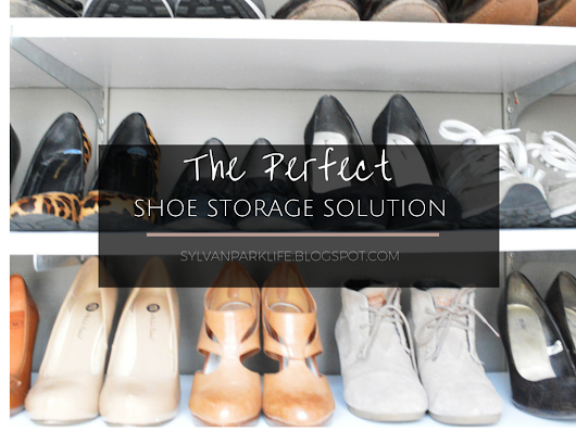 The Perfect Shoe Storage Solution