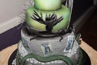 Death eater cake - Whomping willow