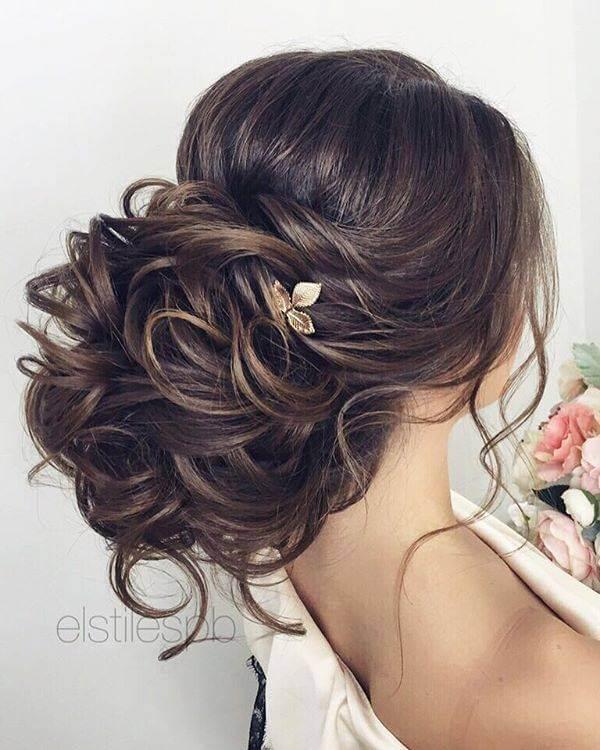 alttan topuz gelin saçı