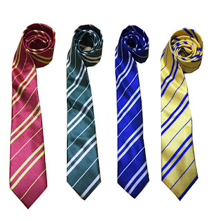 Harry Potter cravatta maschera carnevale travestimento cosplay bambini misura taglia età 7 8 9 10 11 12 13 anni