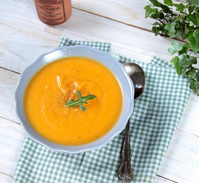 zupa z dyni, krem z dyni, zupa dyniowo-marchewkowa, krem dyniowy, krem z dyni przepis,