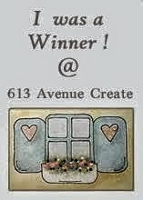 I was a WINNER at 613 Avenue Creates