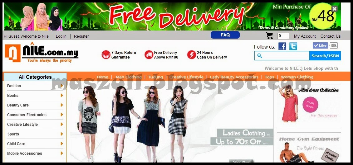 Bershopping Di Nile.com.my