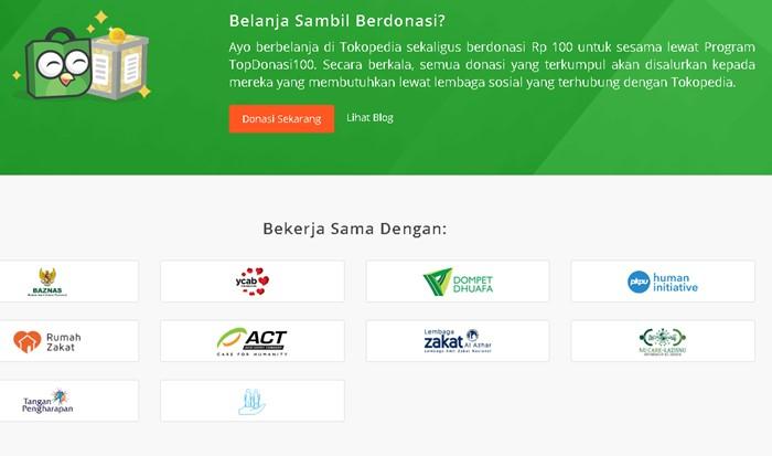 TopDonasiBebas Hari Pahlawan - tokopedia.com