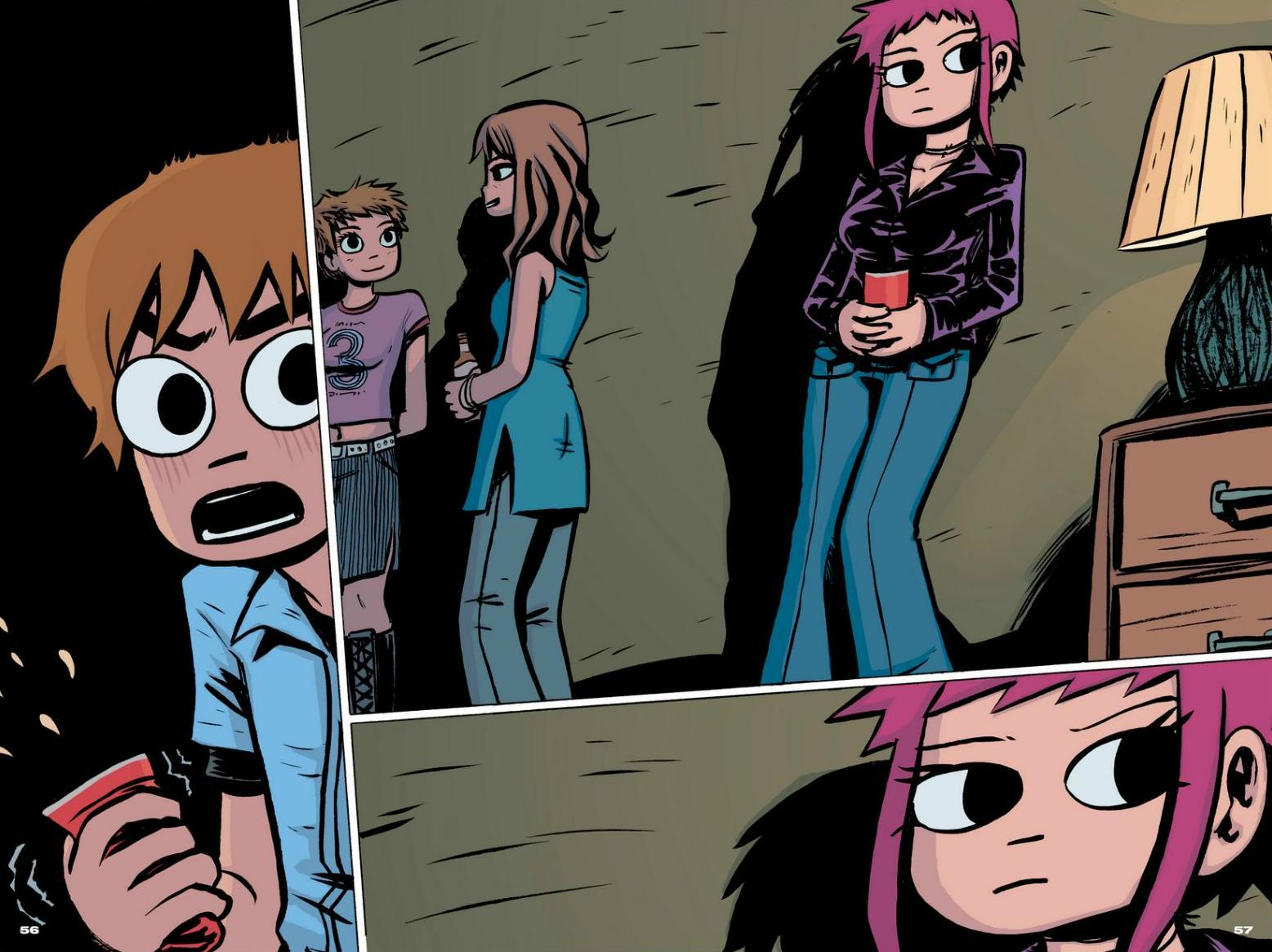 Read online Scott Pilgrim comic -  Issue #1 - 50
