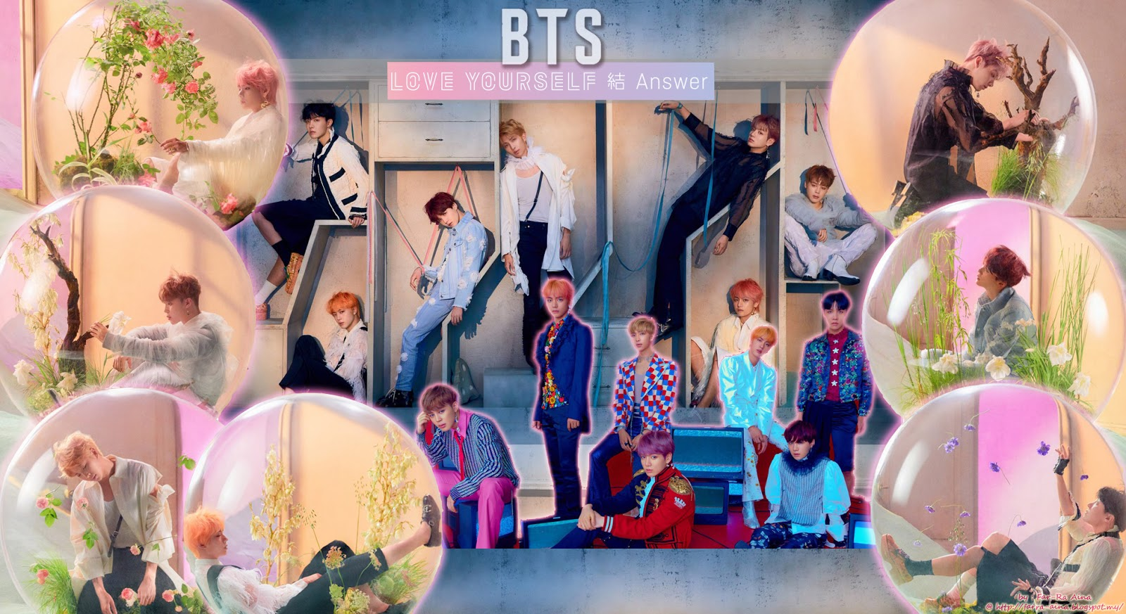 K Pop Lover Bts Love Yourself 結 Answer Wallpaper