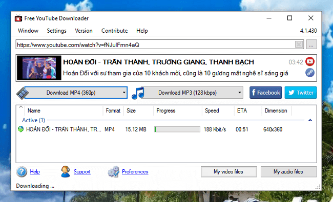 Download Youtube Downloader mới nhất