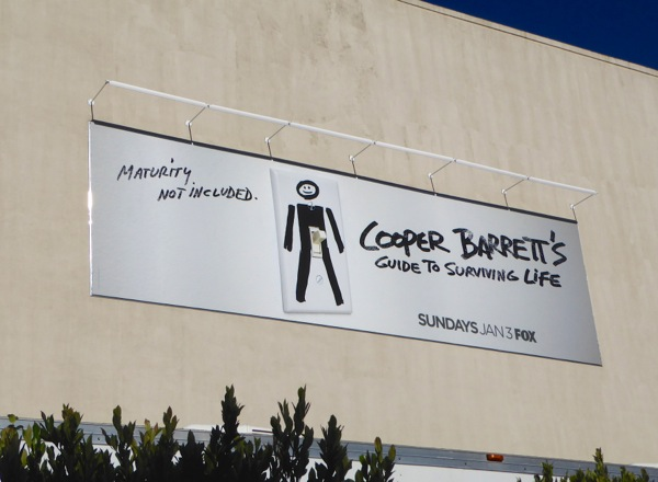 Cooper Barrett's Guide Surviving Life billboard