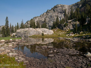 Bald Knob Lake outlet, Beartooth Mountains, Montana