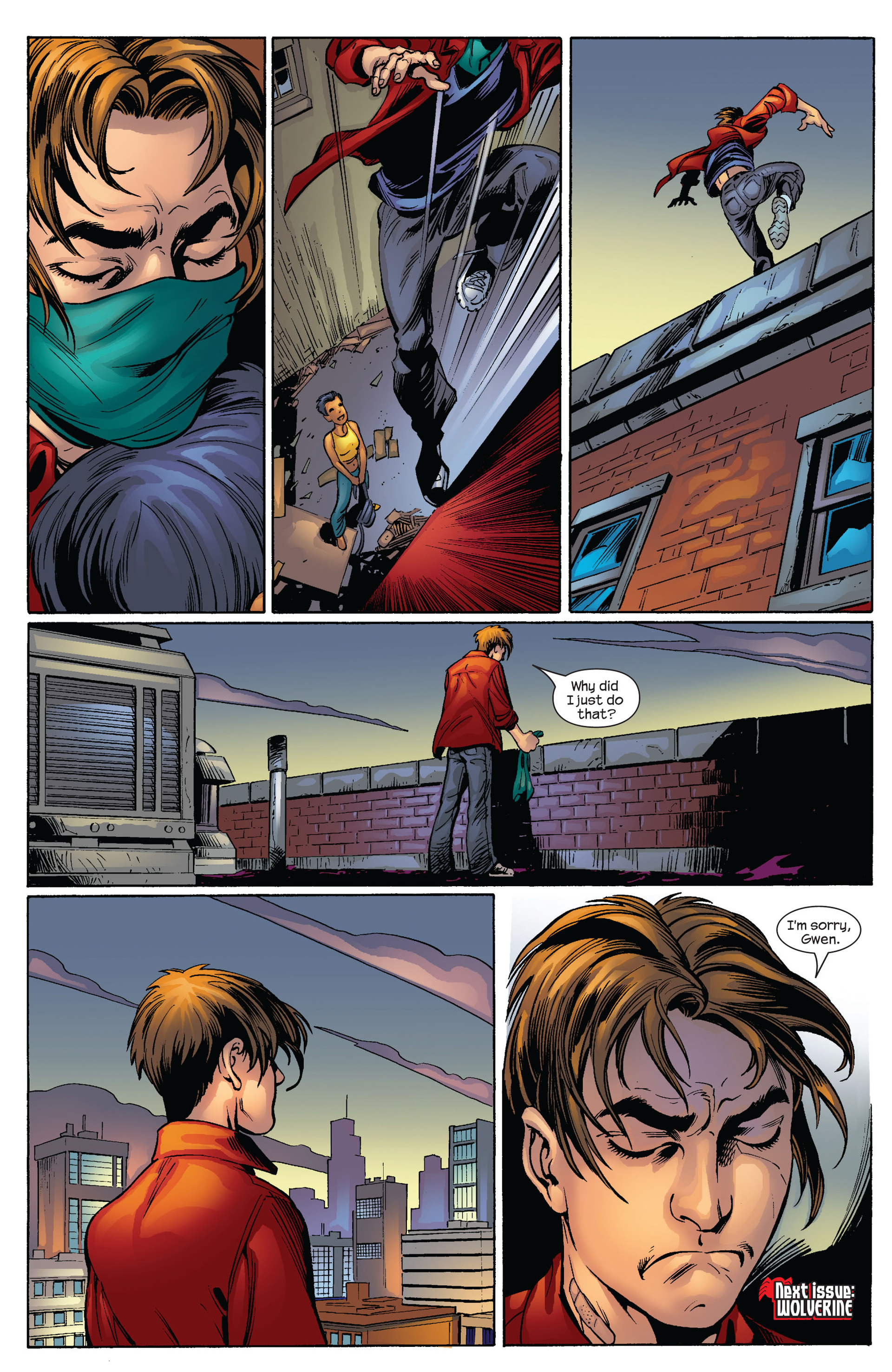 Read online Ultimate Spider-Man (2000) comic -  Issue #65 - 20