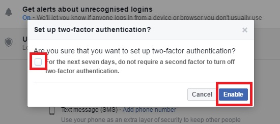How To Enable Two-Step Verification In Facebook ~ Tech Hunt