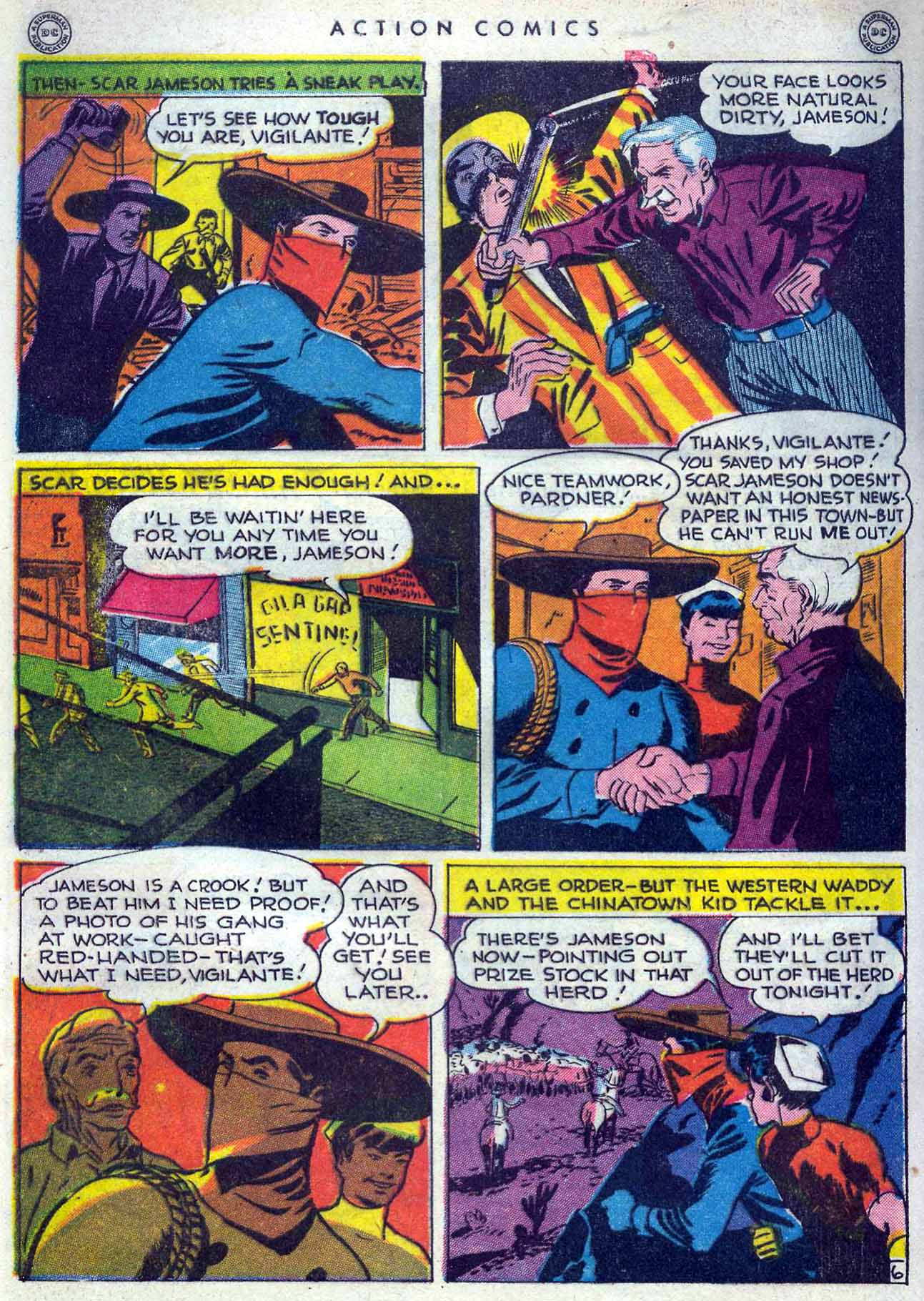 Read online Action Comics (1938) comic -  Issue #105 - 46