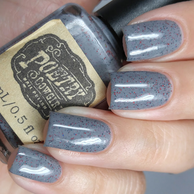 Poetry Cowgirl Nail Polish - Scarlet Dusk
