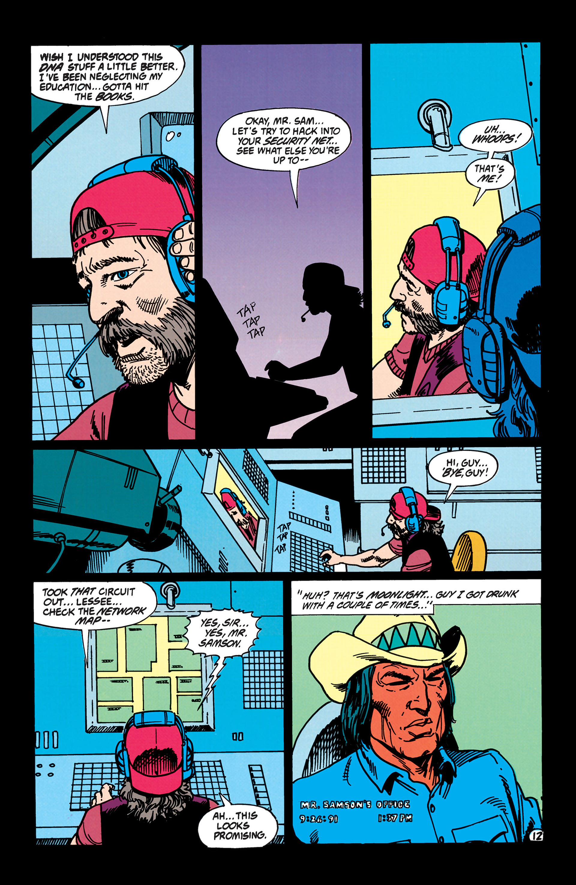 Read online Animal Man (1988) comic -  Issue #43 - 13