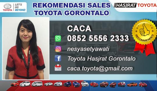Rekomendasi Sales Toyota Gorontalo