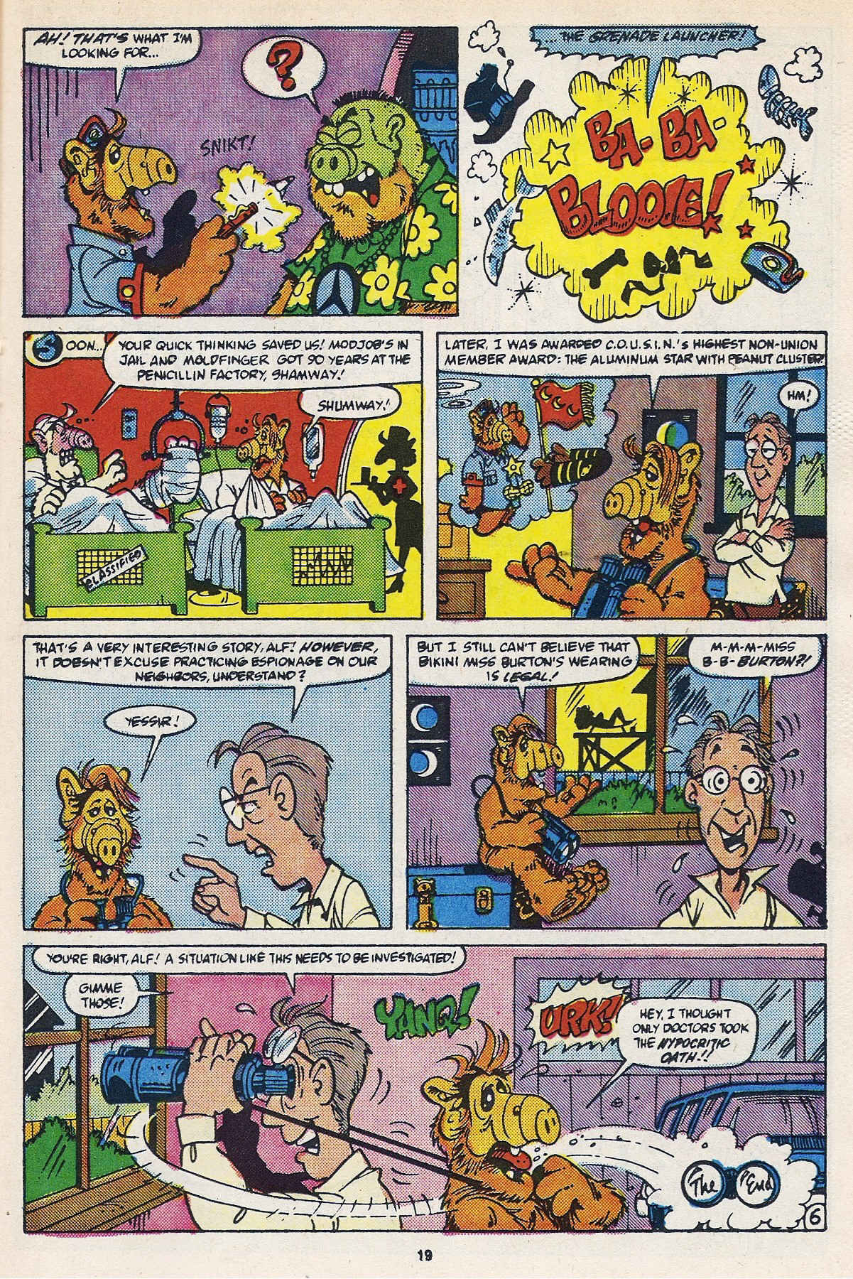 Read online ALF comic -  Issue #16 - 21
