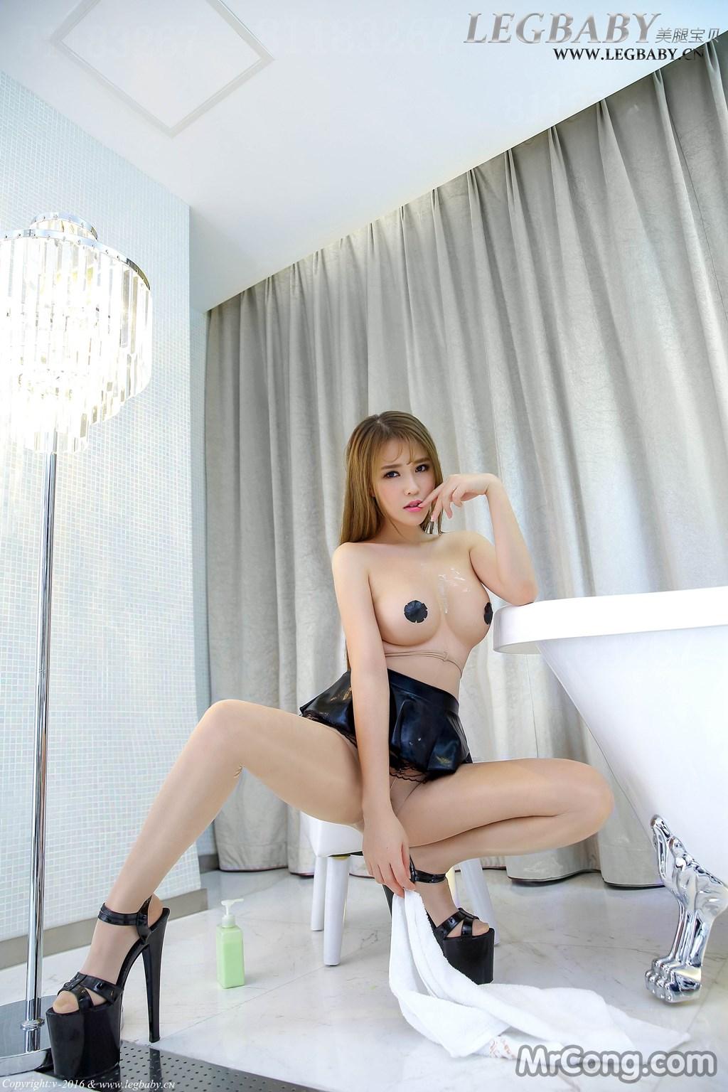 Image MrCong.com-LegBaby-Vol.017-Ruo-Xi-001 in post LegBaby Vol.017: Người mẫu Ruo Xi (若兮) (43 ảnh)