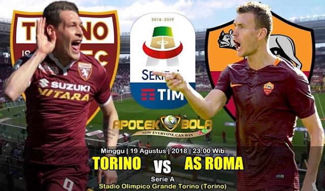 Prediksi Torino Vs AS Roma 19 Agustus 2018