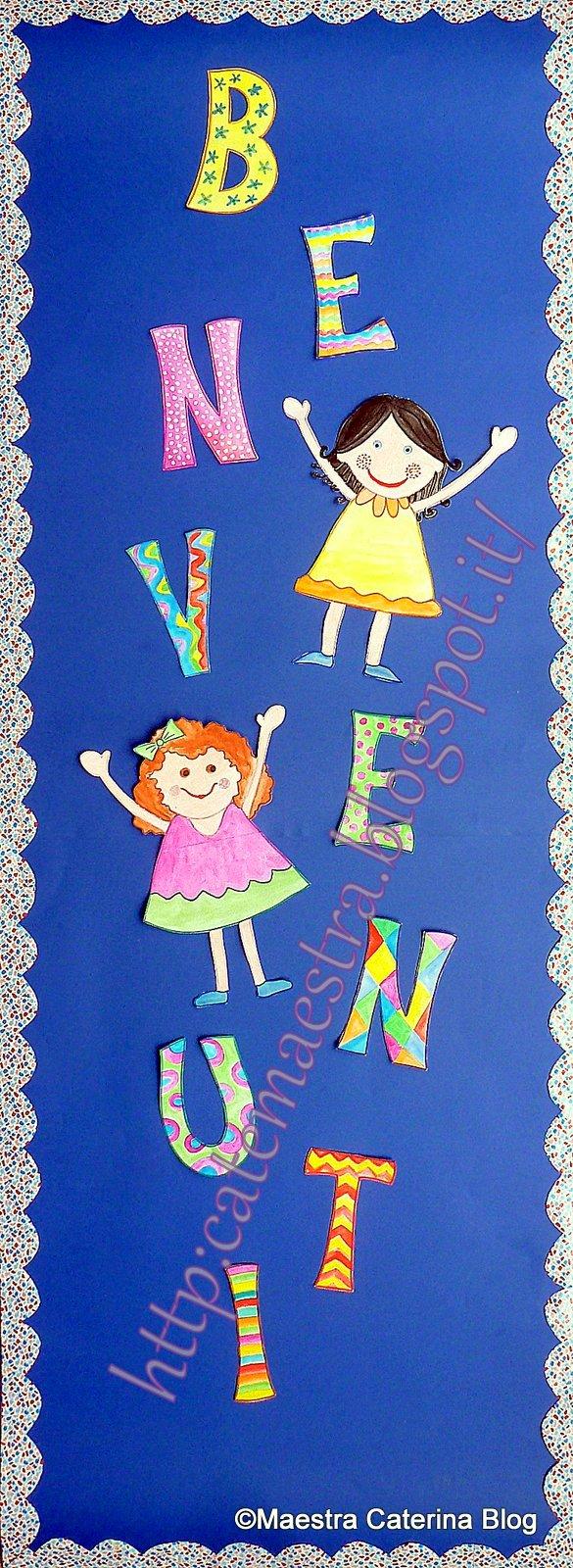 Favoloso Maestra Caterina: Benvenuti per accoglienza scuola YE68