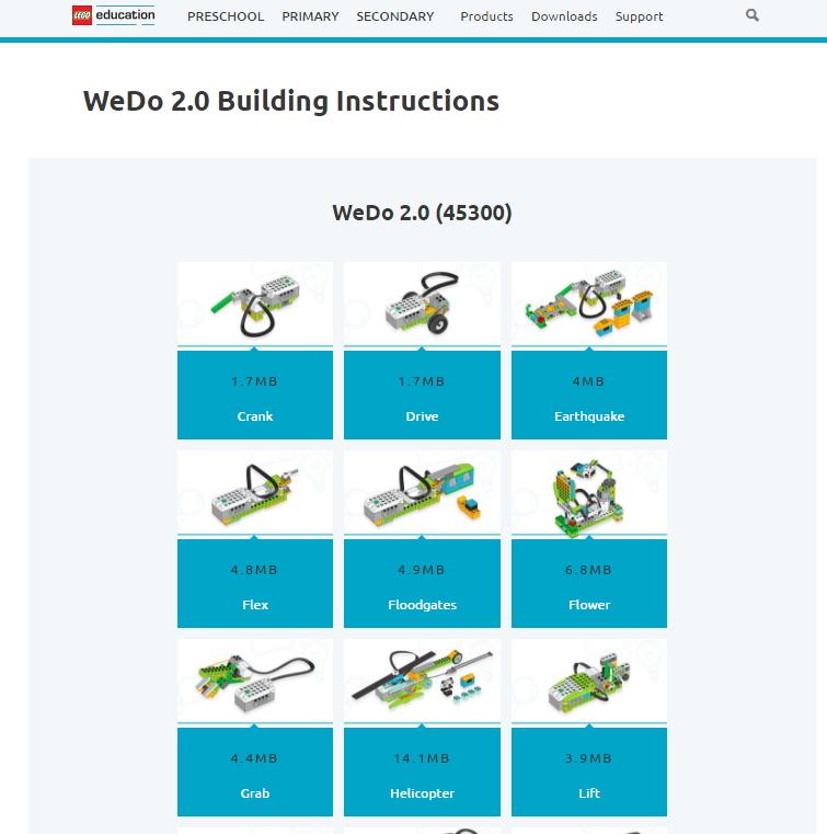 Wedo   Building Instructions Pdf