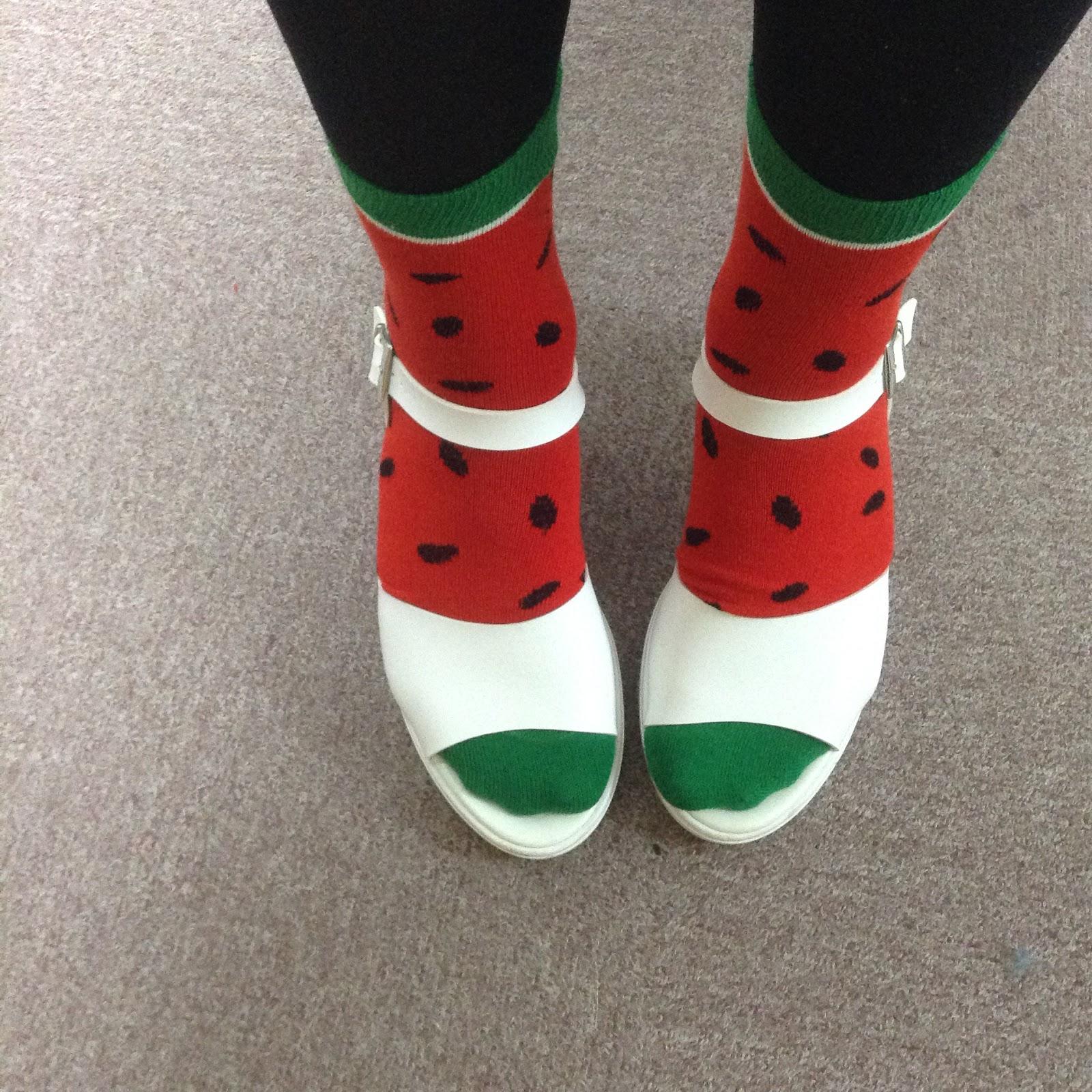 WEGO watermelon socks haul