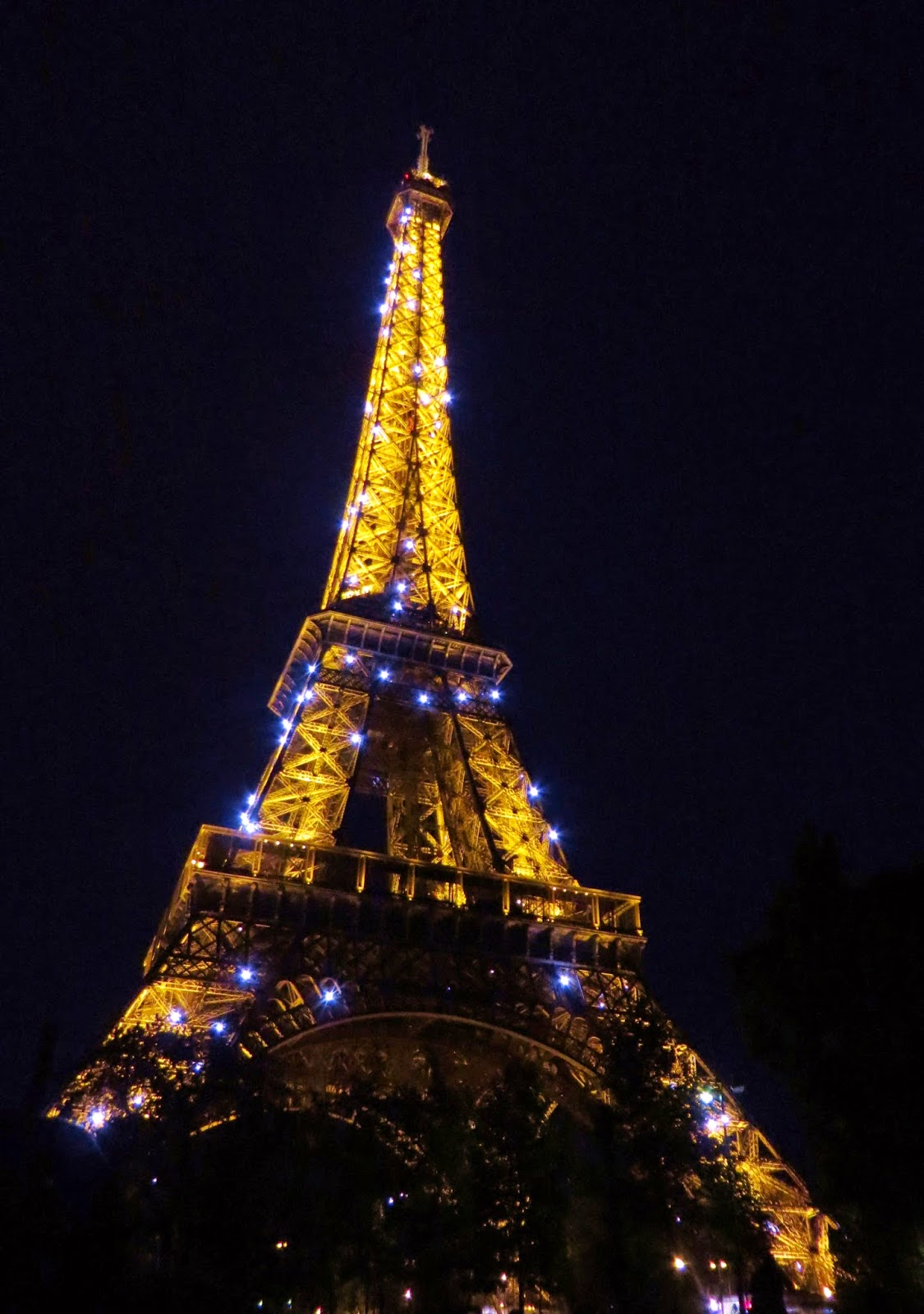 Eiffel tower paris sparkle night lights