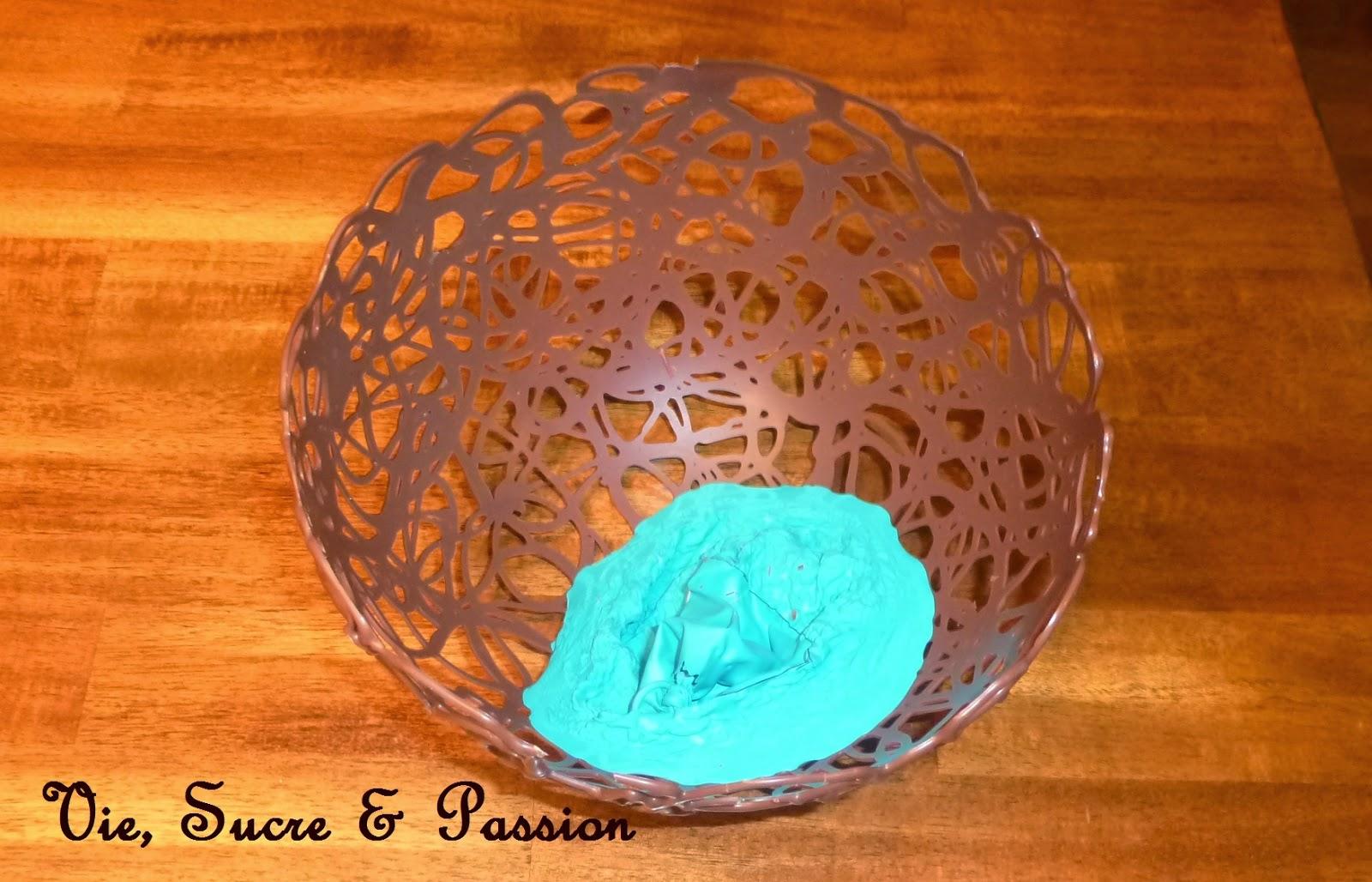 How to make a chocolate dome