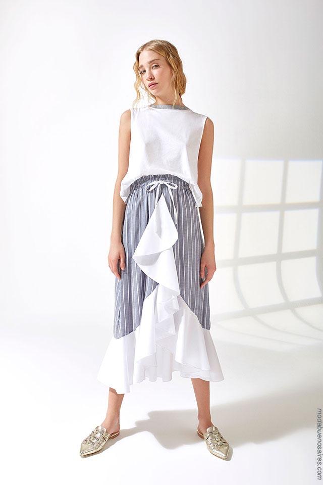 Moda primavera verano 2019 ropa de mujer. Moda 2019.