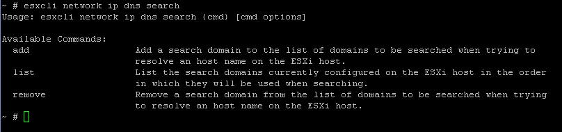 ESXi5 Command Line Reference - Networking Part1