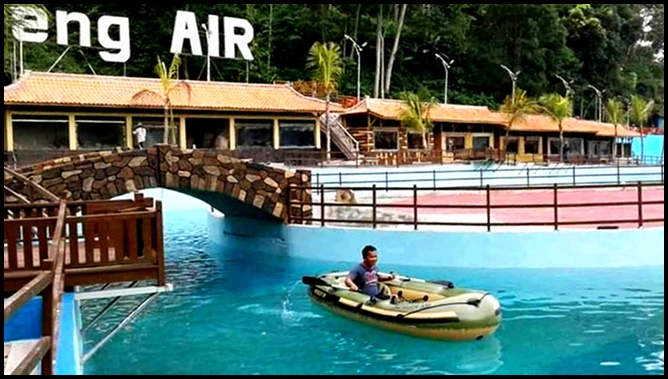 Ada Hotel Dalam Air di Obyek Wisata Kampoeng Air Majalengka
