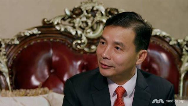 CEO của Jin Bei Casio and Hotel, ông Benson Tan