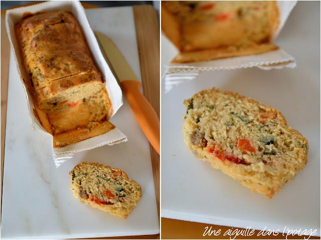 cake aux légumes gamme végétale Guyader
