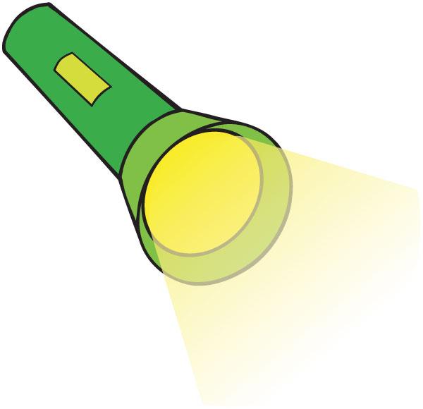 Flashing Light Bulb When Turned