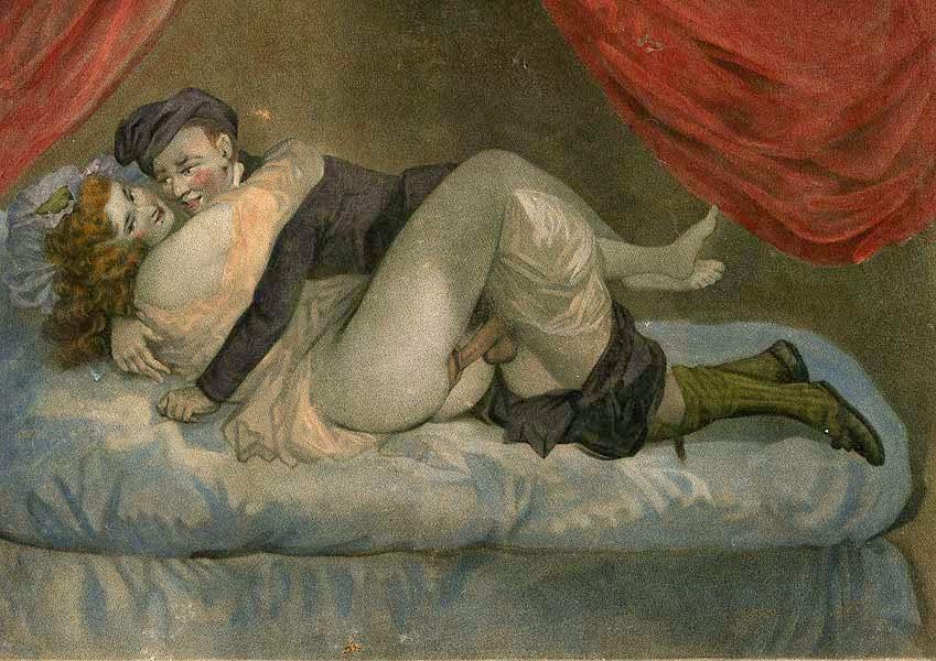 Эротика и секс в живописи европы