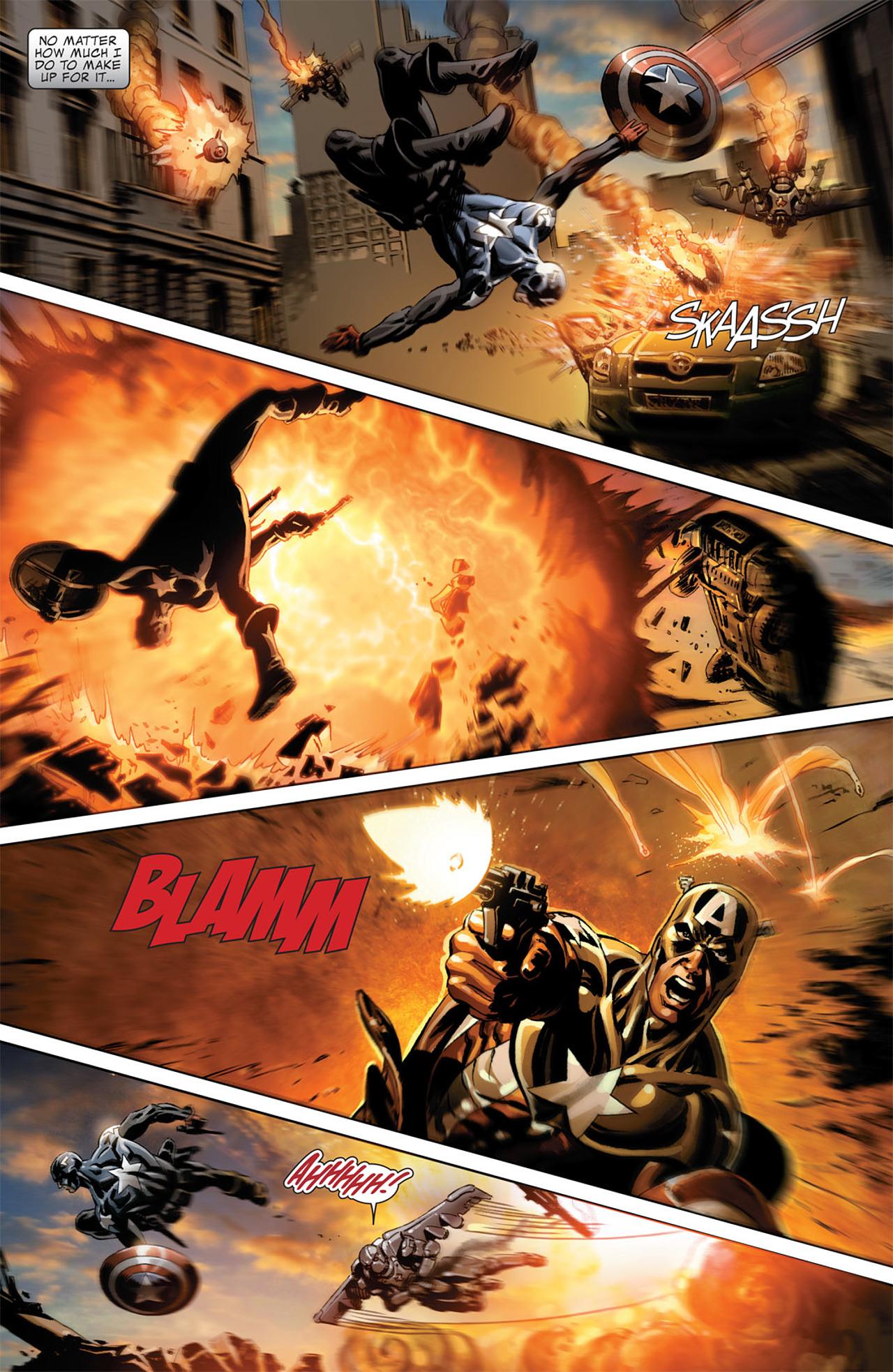 Read online Captain America (2005) comic -  Issue #50 - 20