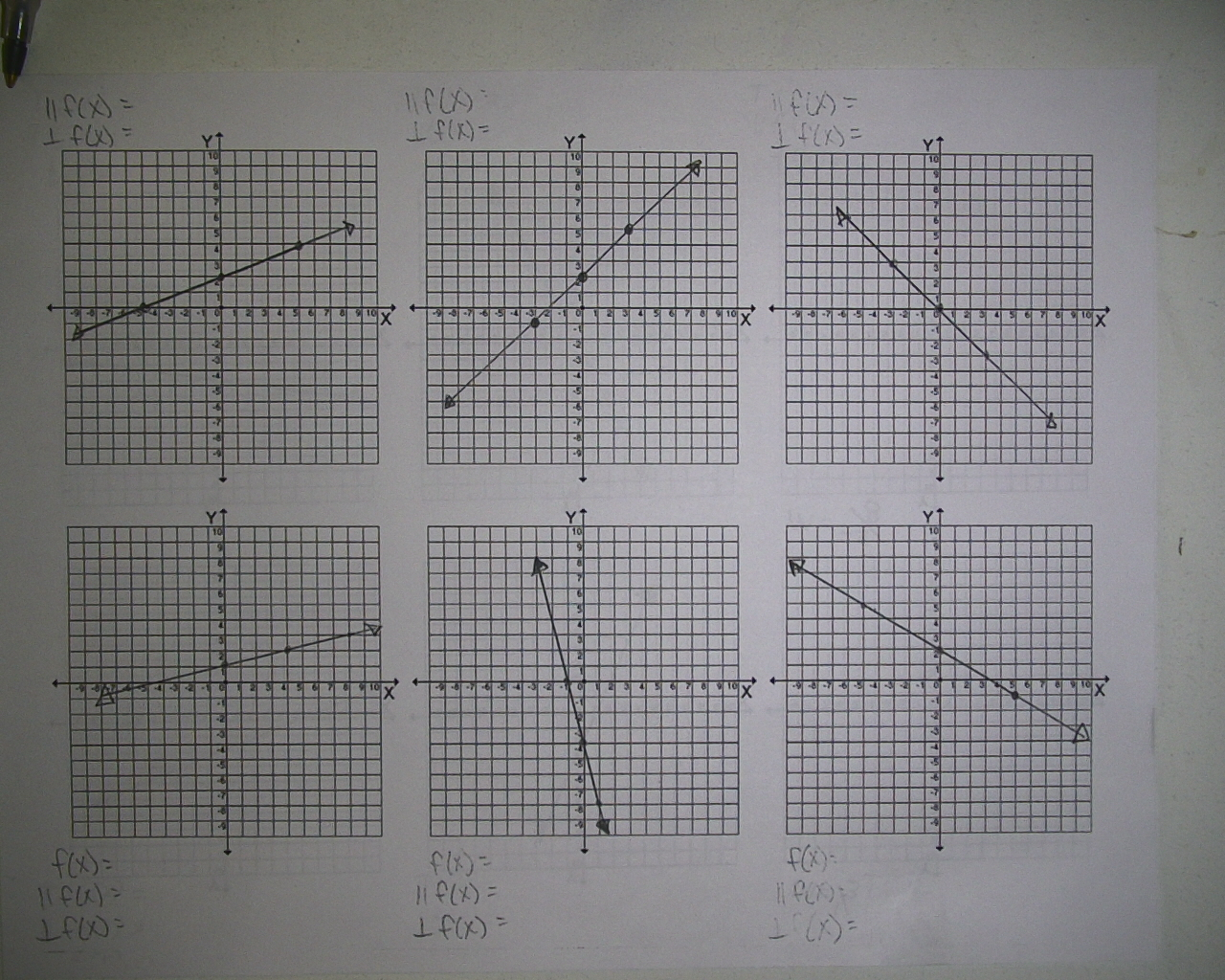 Mr Brzenski S Math Class Notes 5 2 And