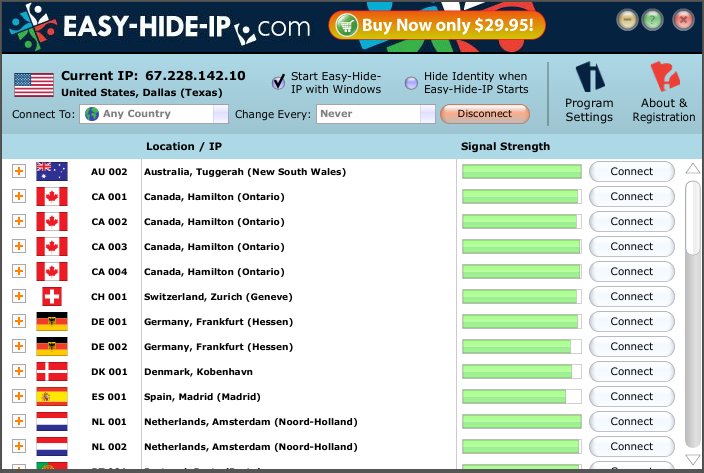easy hide ip key