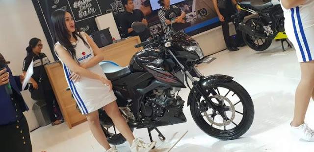 Suzuki GSX 150 Bandit 2018 Titanium Black